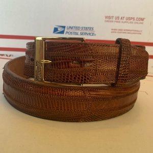 Genuine Lizard Belt